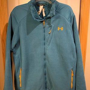 Men's 2XL Under Armour fleece jacket
